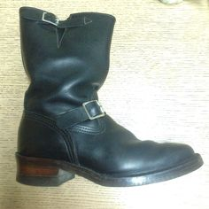 Wesco narrow engineer boots japan only