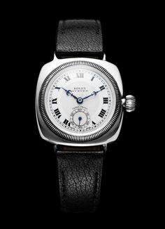 1926 Rolex Oyster Coussin. - of course I want to get this for Nate then see its a vintage Rolex! #luxurywatches