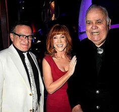 Robin Williams, Kathy Griffin & Jonathan Winters.