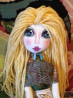 Mermaid Cloth Doll