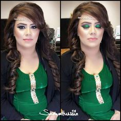 Makeup by sadaf wassan Party Makeup, Most Beautiful, Ideas, Hair Styles, Tips, Beauty, Women, Fashion, Hair Plait Styles