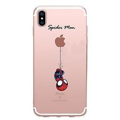 Para iPhone X iPhone 8 Case Tampa Estampada Capa Traseira Capinha Brincadeira Com Logo da Apple Desenho Animado Macia PUT para Apple #iphone8case,