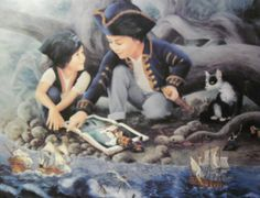 PUZZLES LYNN LUPETTI 750 pieces The Magical Voyage 24x18 USA age 12 and up | eBay