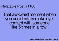 My Teachers it's SOOO awkward and weird