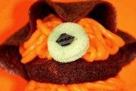 Muffins aux petits vers orange