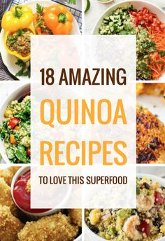 awesome 18 Amazing Quinoa Recipes To Love This Superfood Healthy Alternatives, Healthy Options, Superfood, Clean Eating Recipes, Cooking Recipes, Beef Recipes, Quinoa Dishes, Quinoa Meals, Quinoa Salad