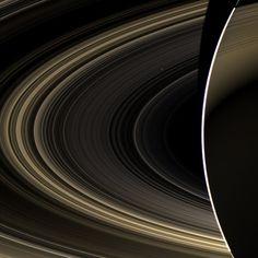 Venus from Saturn /by ESA #Cassini