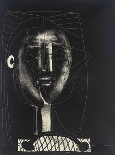 Picasso - black figure