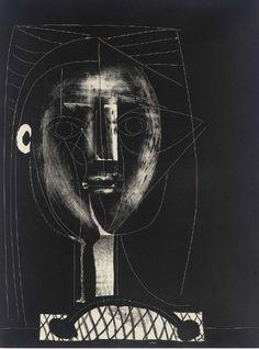 Picasso - black figure