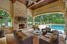 Perfect patio retreat #backyard