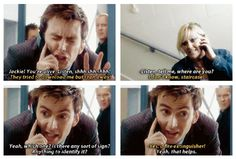 """I loved their relationship< OMG Yes and I loved it when the Doctor would make a comment like, """"You sound just like your mother."""" Rose and the Doctor would just grin and give each other a knowing look. Bbc Doctor Who, 10th Doctor, Doctor Who Tumblr, David Tennant, Don't Blink, Torchwood, My Tumblr, Dr Who, Superwholock"""