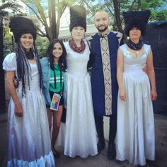 13h Just met DakhaBrakha & they're even more lovely in person! tweeted by keshiasaldanha