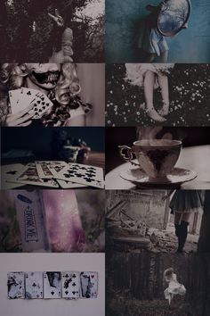 Dark Alice in Wonderland Aesthetic ; requested by... - Aesthetic Boards