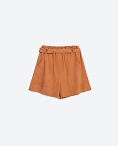 Image 8 of FLOWING SHORTS WITH BELT from Zara