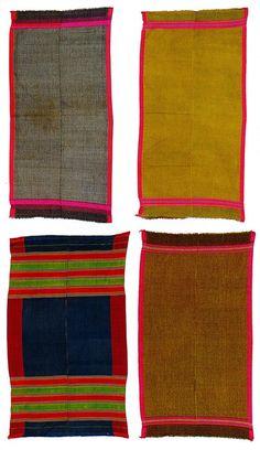 Waziri shawls, Pakistan. Alistair McAlpine collection, Sotheby's.