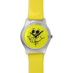 Silly Yellow Smiley Face 8 Watches