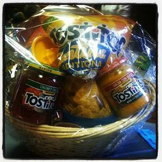 Door prize, gift for a guy, or a housewarming gift, but with a bowl not a basket.