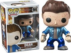 Supernatural - Dean Metallic Blood Splatter Pop! Vinyl Figure If a normal Dean Pop! Vinyl isn't enough you could get a blood splatter version... But if you want the best you can't go past this METALLIC BLOOD SPLATTER DEAN!! Proudly brought to you by Popcultcha, Australia's largest and most comprehensive Pop! Vinyl online store. For more of our awesome Pop! Vinyls, please clickhere.