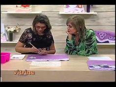 Pintura e Apliques com Lili Negrão - Vitrine do Artesanato na TV
