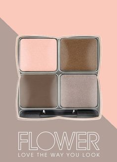 FOXY BROWN shadow play eyeshadow is calling your name. This.is.palette.perfection. #FLOWERBeauty
