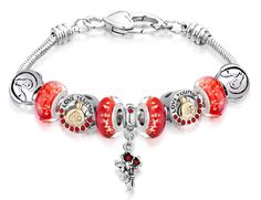 Mom' Charm Bracelets Design No. 1  Check What's More in Store:  http://www.pugster.com/c/mother-theme
