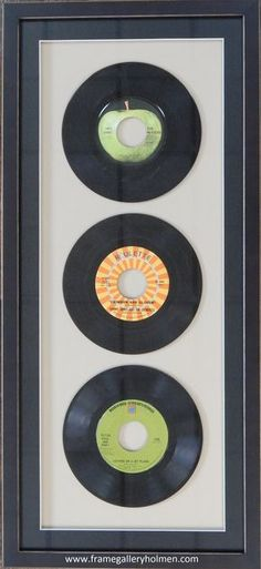 Here is a gift of memories! #records #frame #memories
