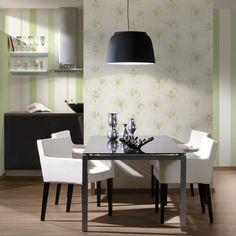 Tapete Nr. 959882 Aus Der Jette 3 ✓ Kostenloser Versand ✓ Livingwalls  Vliestapete In Weiß, Grün ✓ Tapeten Von TapetenMax®