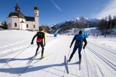 Crosscountry-Skiing - Seefeld in Tirol Cross Country Skiing, Olympics, Places Ive Been, Mount Everest, Spaces, Vacation, Travel, Outdoor, Mountain