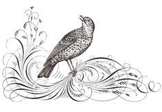 Juniper Hill Antiques: The beauty of Victorian pen and ink art!