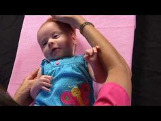 About two percent of babies born in the US have a condition known as congenital torticollis. Physical Therapy Exercises, Pediatric Occupational Therapy, Pediatric Ot, Physical Therapist, My Bebe, Baby Workout, Acute Care, Baby Born, Nicu