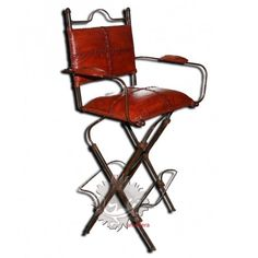 chaise hautes de bars folding chairchairfer forgadd - Chaise Haute Fer Forge