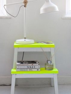 Rock The Colors: 32 Neon Home Décor Ideas | DigsDigs