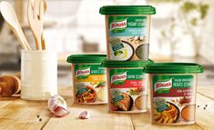 New Packaging Design for Knorr Seasoning Series in the Turkish Market / World Brand & Packaging Design Society Food Packaging Design, Brand Packaging, Different Vegetables, New Cooking, Spice Mixes, Vegetable Dishes, Food Design, Family Meals, Yogurt