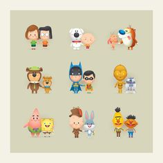 Love this compilation of Gay cartoon characters over time... So Happy Together by Jerrod Maruyama