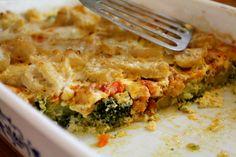 Famózna FIT večera: Zapekaná brokolica s kuracím mäskom - Fitshaker Quiche, Food And Drink, Low Carb, Menu, Healthy Recipes, Treats, Cooking, Breakfast, Blog