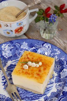 """Ciasto kokosowe """"Crème brûlée"""""""