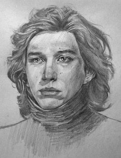 Kylo Ren/Ben Solo in ben solo drawing collection - ClipartXtras Adam Driver, Drawing Sketches, Pencil Drawings, Pencil Sketching, Drawing Faces, Drawing Tips, Kylo Ren And Rey, Star Wars Drawings, Drawn Art