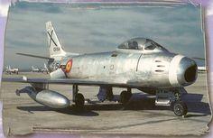 Asociación Catalana Amigos del Modelismo - F-86 F-30 Sabre - Ejército del Aire - Airfix 1/72 - Hangar de Montaje 1/72