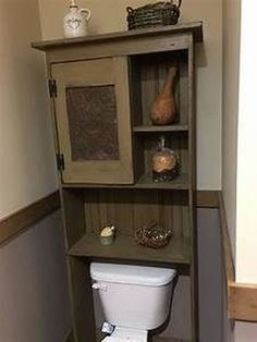 primitive homes decor Primitive Homes, Primitive Country Bathrooms, Primitive Bathroom Decor, Primitive Bedroom, Primitive Furniture, Country Furniture, Country Primitive, Country Decor, Rustic Decor