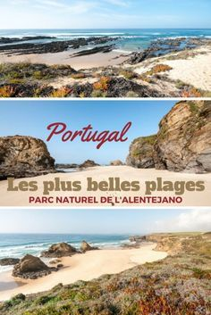 Road trip dans l'alentejo : parmi les plus belles plages du Portugal. Le littoral du parc national de l'Alentejano est vraiment à découvrir.