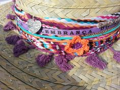 Boho Chic, Hippie Chic, Hippie Style, Cinto Obi, Painted Hats, Hippie Crochet, Cowgirl Hats, Ibiza Fashion, Cool Hats