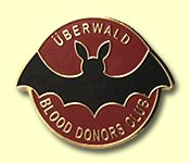 Uberwald blood donors club badge :D