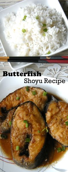 Try the Shoyu Butterfish Recipe or the delicious Misoyaki recipe. Both are delicious and will melt in your mouth. Visit us to get more local style recipes. Entree Recipes, Fish Recipes, Seafood Recipes, Asian Recipes, Cooking Recipes, Asian Foods, Ethnic Recipes, Butter Fish Recipe, Japanese Recipes