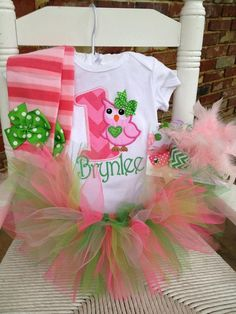 for Savannah  Owl birthday set with by DarlingLittleBowShop, $84.95