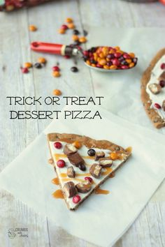 Trick or Treat Dessert Pizza | Crumbs and Chaos: