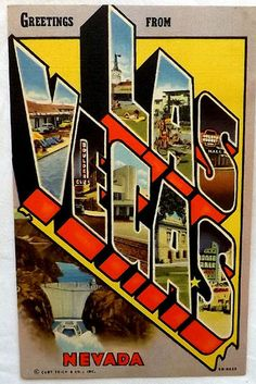 Greetings From Las Vegas Nevada. Visited in 1975 with a group of AF friends.