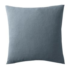 WASHED BELGIAN LINEN PILLOW COVER - SQUARE | French Blue - See more at: https://www.decorist.com/finds/99752/washed-belgian-linen-pillow-cover-square-french-blue/