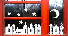 Dekorace+na+vánoční+okno+++ŠABLONKY+k+vystřižení