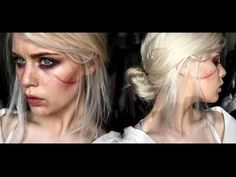 Ciri The Witcher 3: Wild Hunt - Makeup Tutorial - YouTube