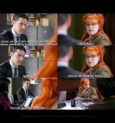 Penelope Garcia... the only person I'd ever want to talk to for tech support.